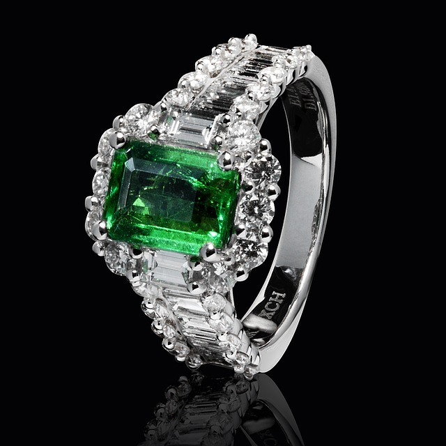 zelený briliant