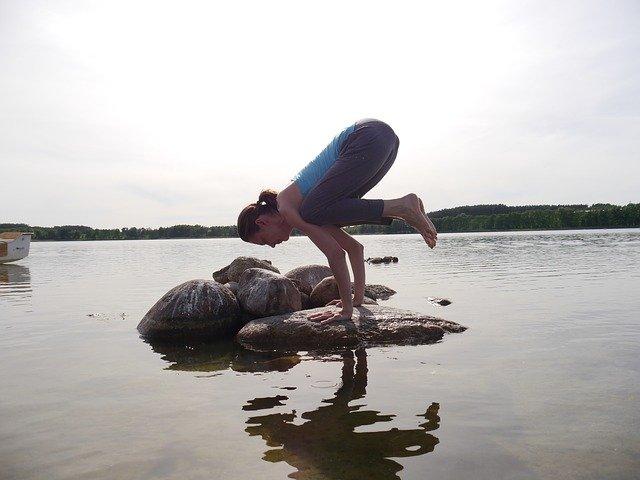 cvičení na kameni