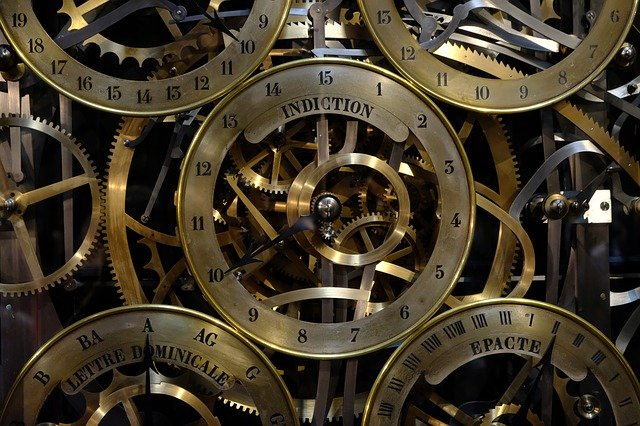 mechanika hodin