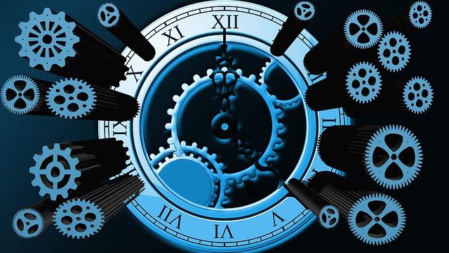 sestavené hodiny