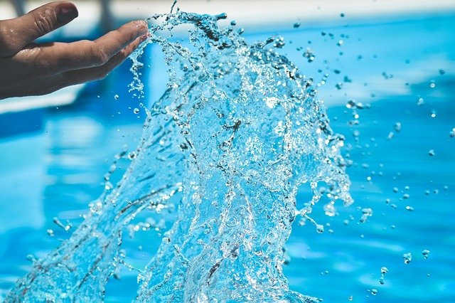 cákání vodou