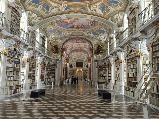 zámecká knihovna