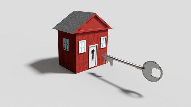 klíč k nemovitosti