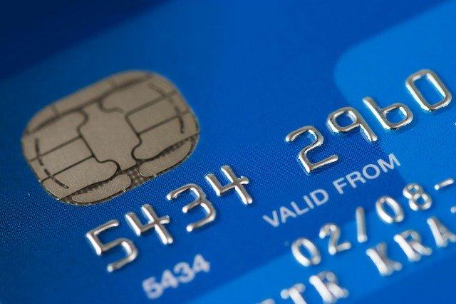 platební karta a její údaje