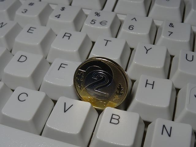 mince na klávesnici