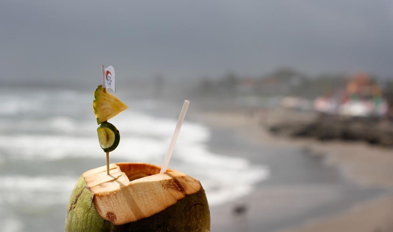 kokos a voda