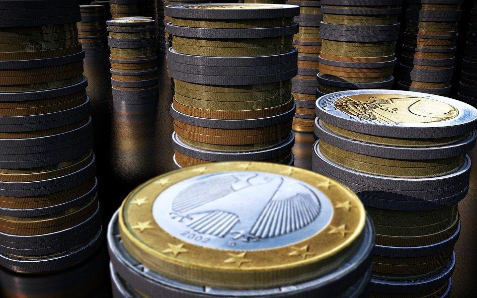 sloupečky z eur